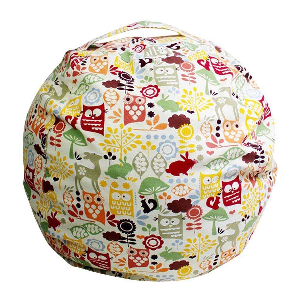 RedDhong Extra Large Stuffed Animal Storage Bean Bag Finest Organizer for Kids' Plush, Jumbo & Cuddly Toys