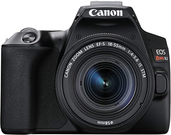 Canon EOS REBEL SL3 Digital SLR Camera with EF-S 18-55mm lens kit
