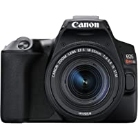 Canon EOS REBEL SL3 Digital SLR Camera with EF-S 18-55mm Lens kit, Built-in Wi-Fi, Dual Pixel CMOS AF and 3.0 Inch Vari…