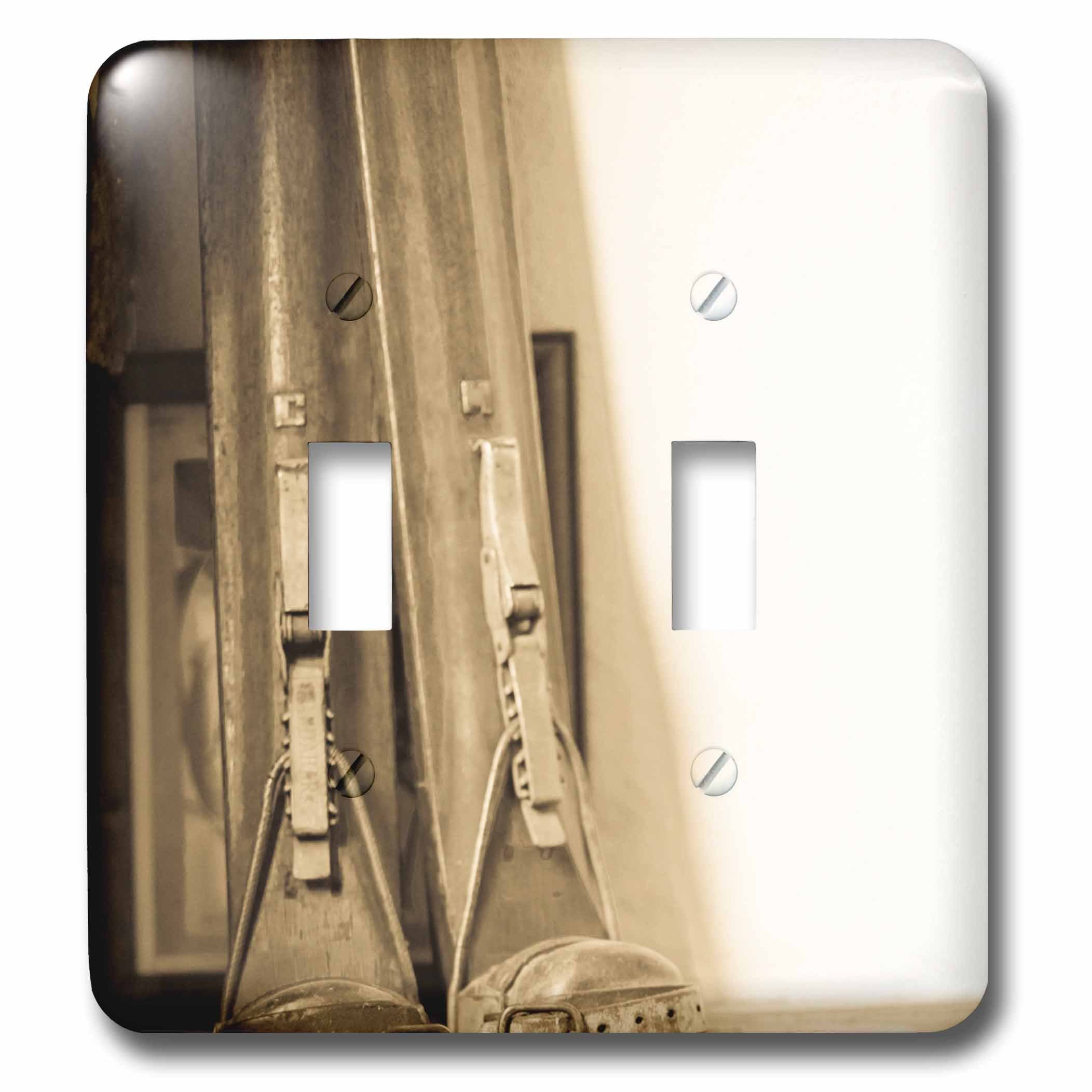 3dRose lsp_206459_2 Taos, New Mexico, USA. Taos Ski Valley. Hotel Saint Bernard. Double Toggle Switch