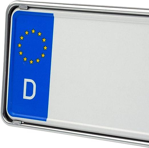 /Ö//SLO et UE NORM Slimline Support de plaque dimmatriculation discret sans baguette de publicit/é