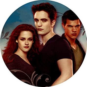 Twilight Bella Swan Edward Cullen Jacob Black Edible Cake