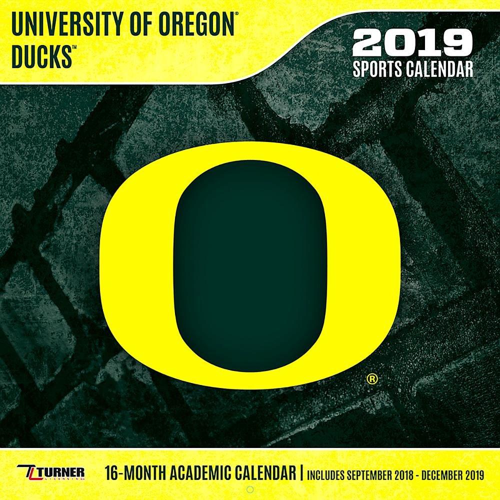 U Of O Calendar 2019 University of Oregon Ducks 2019 Calendar: Lang Holdings Inc