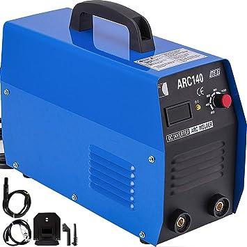 ARC140 140 Amp IGBT Digital Display Welder DC Inverter Stick//Arc Welding Machine