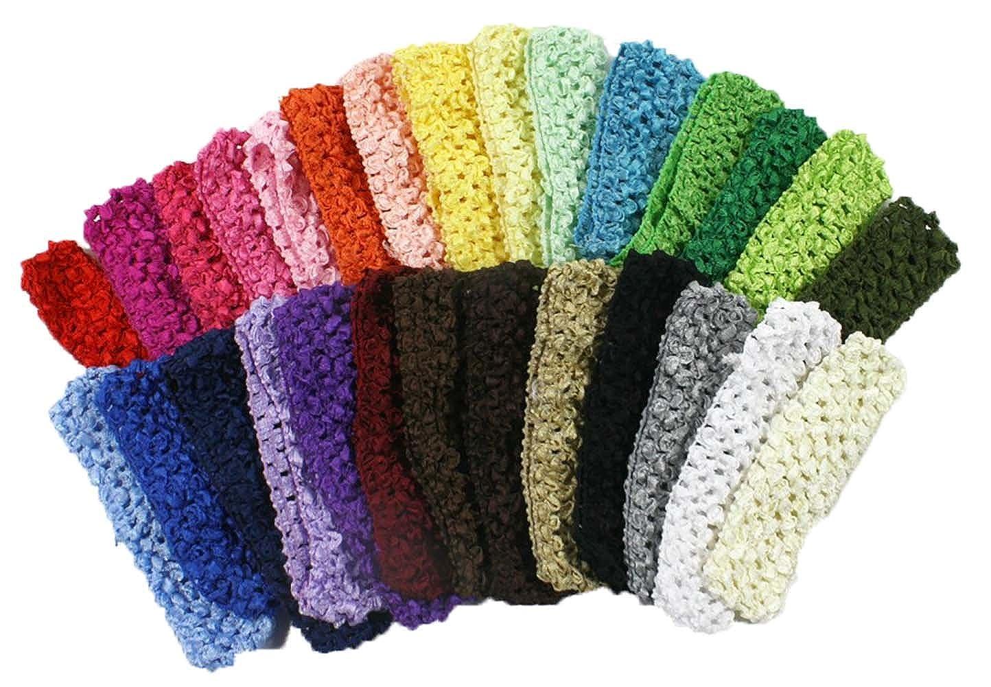 Amazon Crochet Baby Headbands For Girls 15 Hair Bands 28