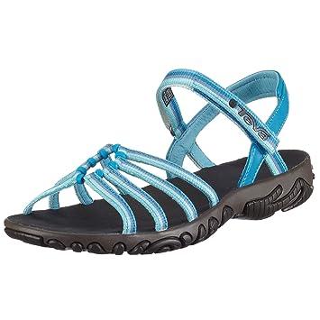 4886c8cc2 Teva Teva Womens Kayenta Walking Hiking Summer Sandal Blue Jewel  4.5