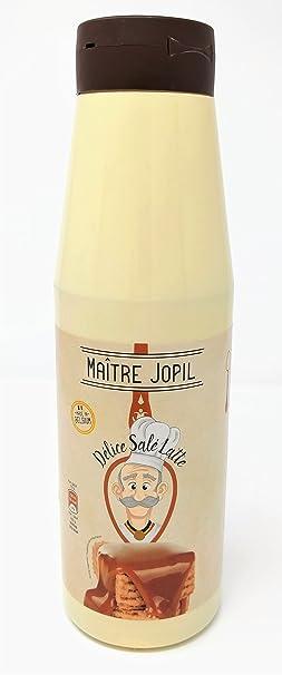 Maître Jopil - Topping Salsa de Caramelo de Mantequilla Salada con Leche 1,2kg