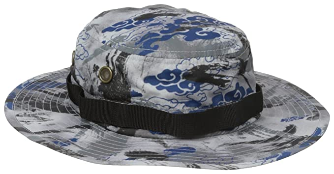 5dd82bd6d1bf3f LRG Men's Bizmark Reverse Bucket Hat, Black, One Size: Amazon.co.uk ...