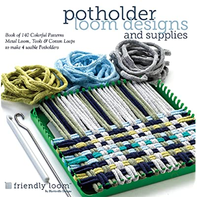 Potholder Loom Designs & Supplies: Toys & Games