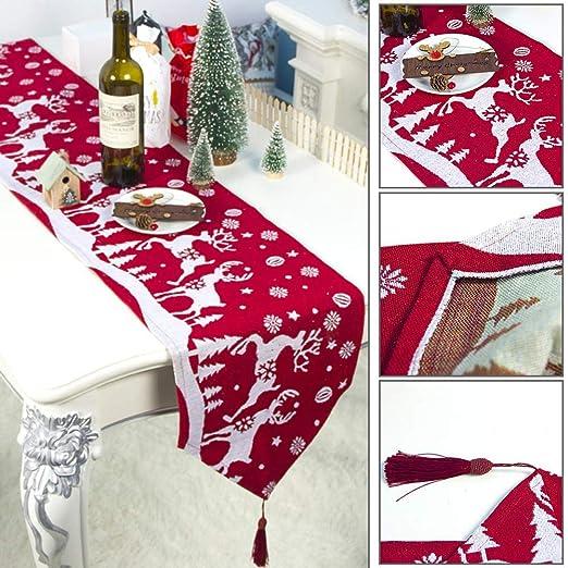 Diseño de Alce navideño Lavable a máquina Decorativo Tapiz de ...