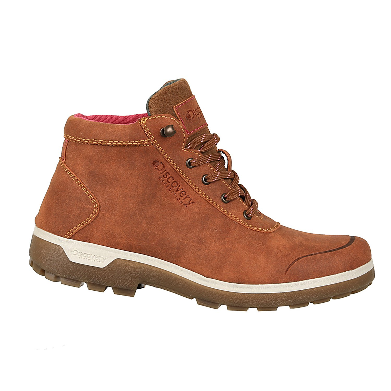 Discovery Expedition Womens Adventure Mid Hiking Boot Cinnamon Size 7.5