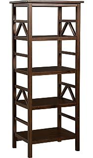 Amazon.com: Linon Home Decor Titian Bookcase: Kitchen & Dining