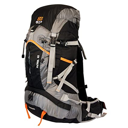 db63cf2c67 Amazon.com   Bear Grylls 45L Backpack (Hydration Pack Compatible)   Hiking  Daypacks   Sports   Outdoors