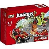 Lego 10722 - Juniors - Jeu de Construction - L'attaque du Serpent Ninjago