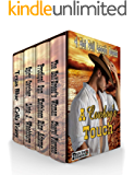 A Cowboy's Touch: Boxed Set: Four Novels of Love in the Old West