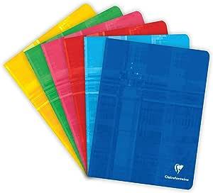 Clairefontaine 63741C - Lote de 10 Cuadernos grapados A5 MAXI ...