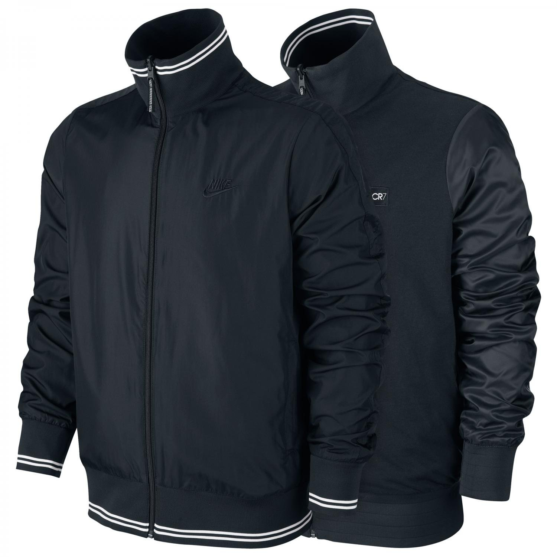 0e5f37b11688 Nike Mens N98 CR7 Reversible Football Track Jacket Black  Amazon.co.uk   Sports   Outdoors