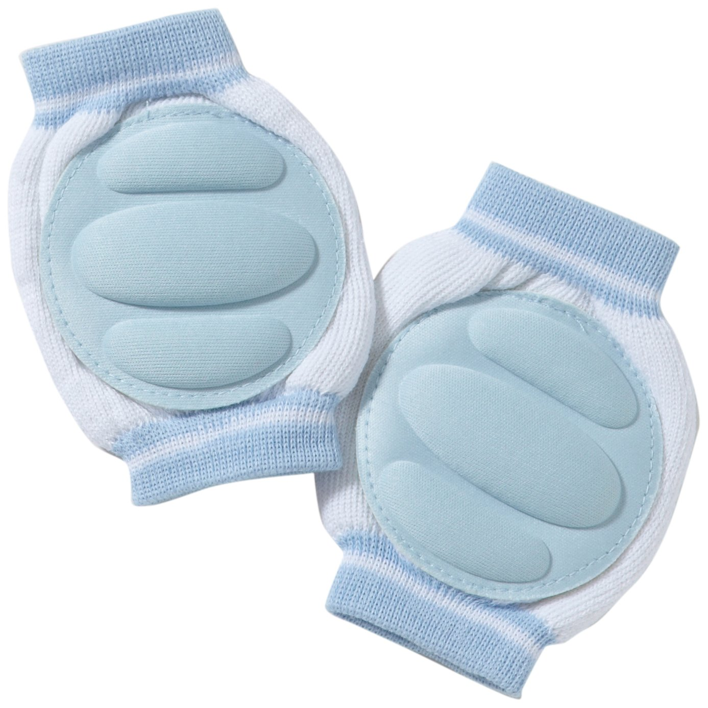 Playshoes Unisex - Baby Set 498801 Knieschoner Gr. one size Mehrfarbig (hellblau) Playshoes GmbH 498801 von Playshoes