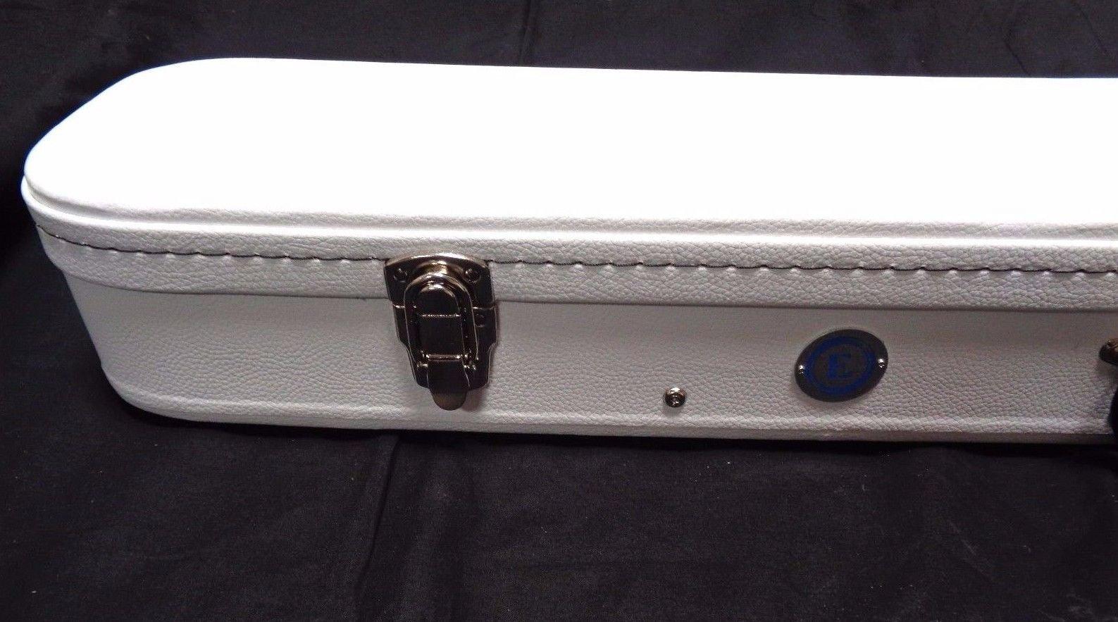 Allen Eden White Hard Shell Electric Guitar Case for Arch Top Les Paul by Allen Eden (Image #4)
