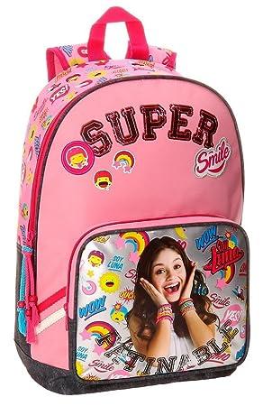 Disney 34723A1 Soy Luna Smile Mochila Escolar, 40 cm, 19.2 Litros, Multicolor: Amazon.es: Equipaje