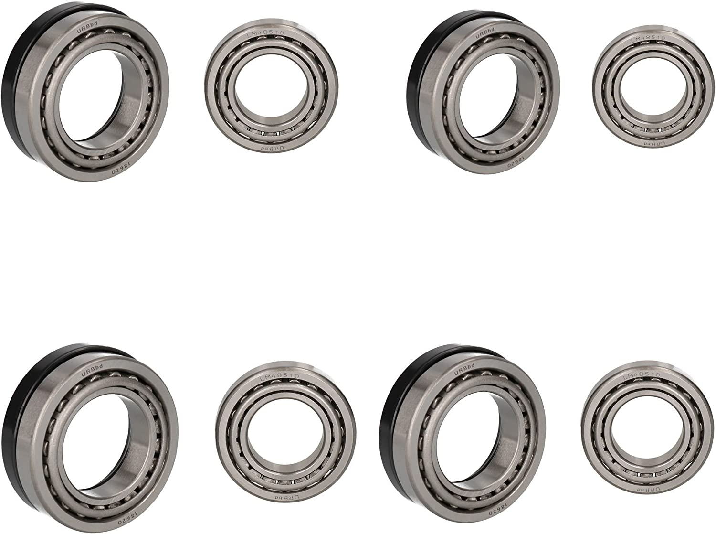 AB Tools 4 Trailer Taper Roller Bearing Kit Indespension Drum 9481 Ref ISHU047 48548//10