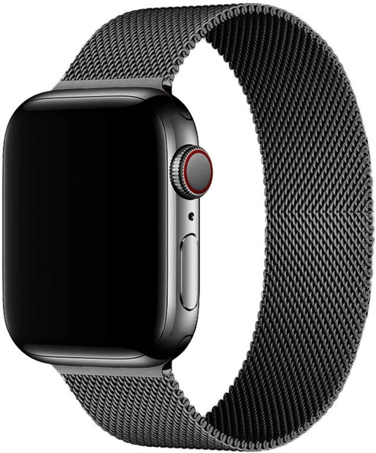 Compatible for Apple Watch Band ,Stainless Steel Magnetic Absorption Strap Metal Mesh Quick Release Wristband Sport Loop for Aple Watch 38 mm 40mm 42 mm 44mm Series 6/SE/5/4/3/2/1