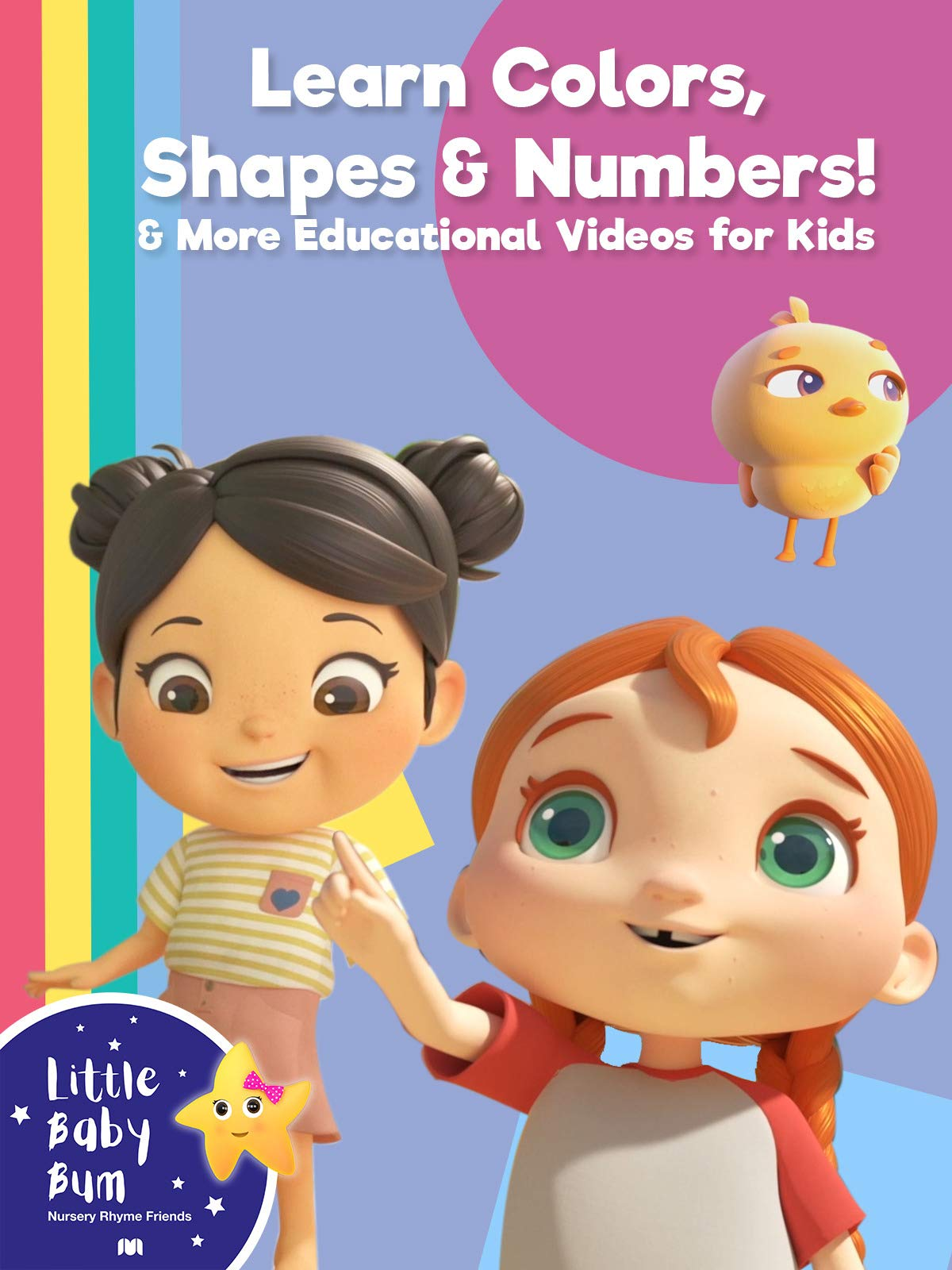 Little Baby Bum - Learn Colors, Shapes and Number! & More Educational Videos for Kids