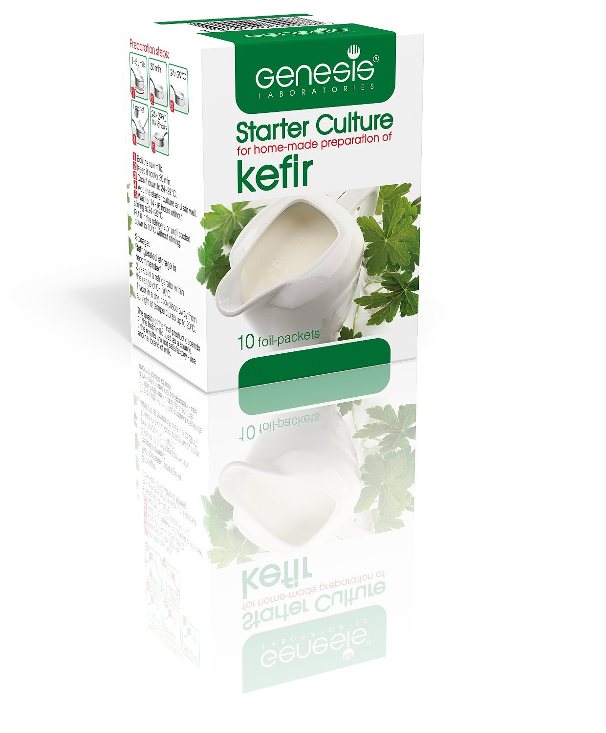 Genesis Starter Culture for home-made preparation of Kefir - up to 50 liters
