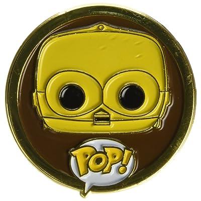 Funko POP! Pins: Star Wars - C-3PO: Toys & Games