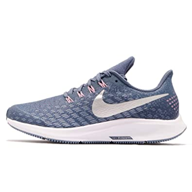 3a4d692c8 Nike Kid's Air Zoom Pegasus 35 GS, DIFFUSED Blue/Metallic Silver ...
