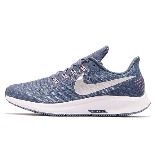 Nike Mädchen Air Zoom Pegasus 35 (gs) Laufschuhe, Mehrfarbig