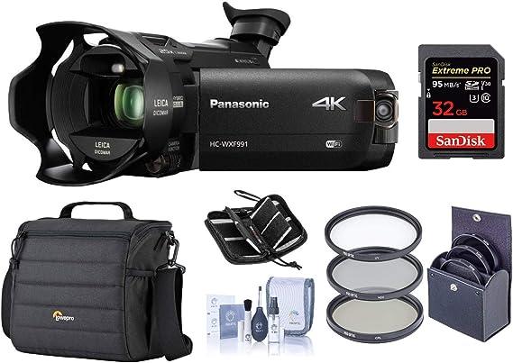 Panasonic HC-WXF991K 4K UHD Camcorder