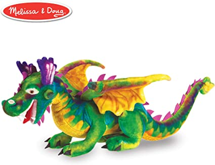 """Flying Multi colored Dragon Patch 8/"""""""