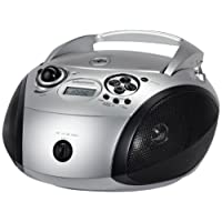 Grundig 1445  Radio CD USB Mp3, Nero/Argento