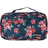 6fa25c8342 EMME Petite Cosmetics and Toiletries Travel Bag (Green Red)