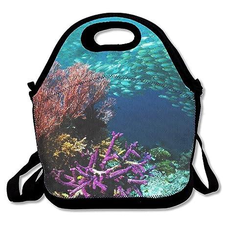 Dozili Underwater World Alghe Grandi E Spessi Neoprene Lunch Bags