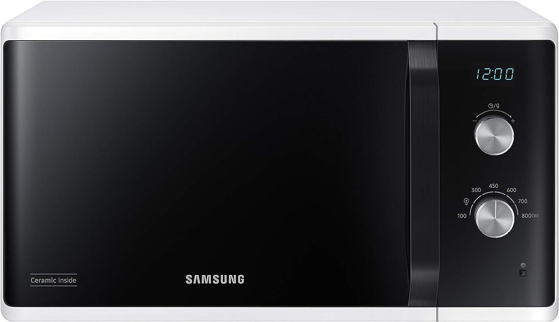 Samsung MW3500 MS23K3614AW/EG Mikrowelle/ 800 W/ 23 L Garraum/ 48 - Mikrowelle mit Grill