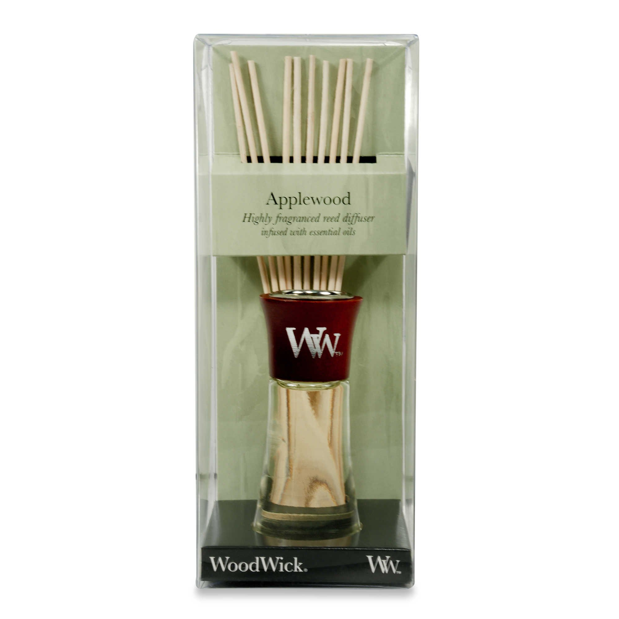 WoodWick Applewood Small Reed Diffuser