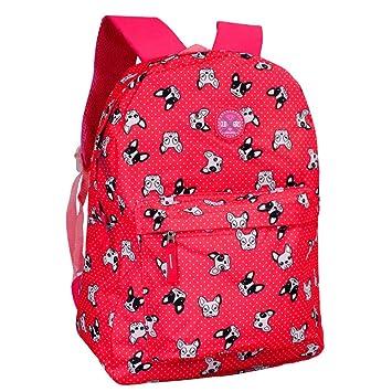 db536436e Mochila Escolar Teen Cachorro - Clio Style (Roxo): Amazon.com.br ...