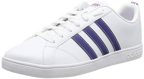 Adidas Tenis VS Advantage BB9620 para Mujer, Color Blanco.