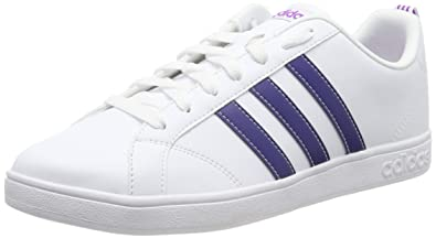 low priced 4d022 90dd3 adidas Vs Advantage, Chaussures de Fitness Femme, Blanc (Ftwbla  Tinmis Pursho
