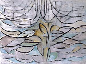 1art1 Piet Mondrian Poster Art Print - The Flowering Apple Tree, 1912 (32 x 24 inches)