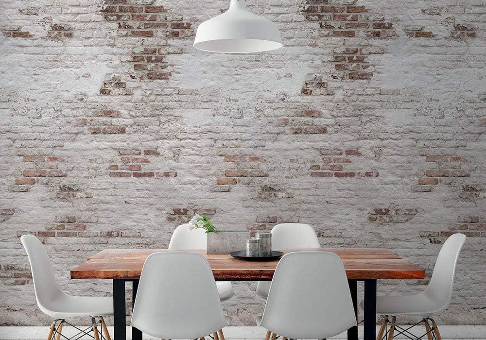 Hxa Deco Papier Peint Intisse Zen Decoration Murale Trompe L œil Le Mur De Brique Rouleau 0 53x8 4 M Amazon Fr Cuisine Maison