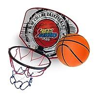 Twitfish® - Mini Canestro da Basket per uso Domestico - BasketBall Time