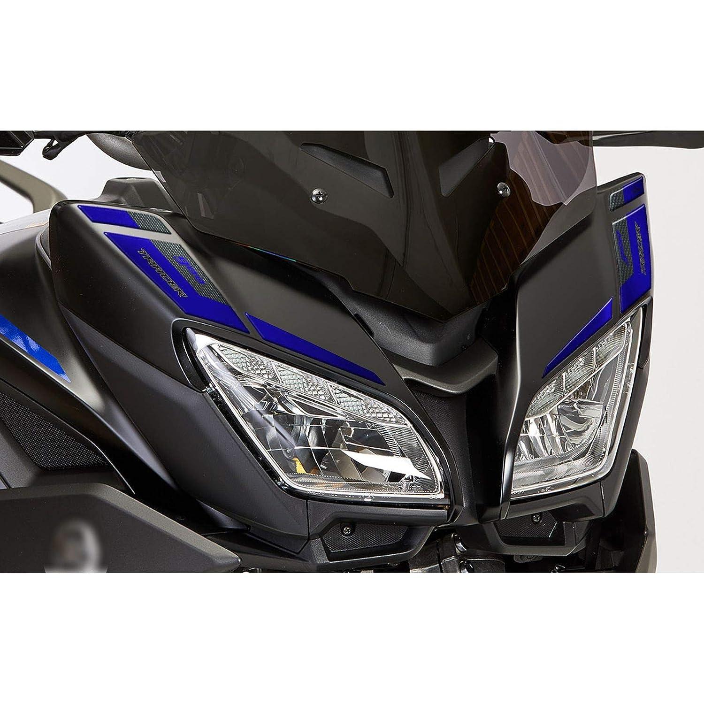 Adesivo 3d Per Frontalino Compatibile Con Yamaha Tracer 900gt 2019 Blu