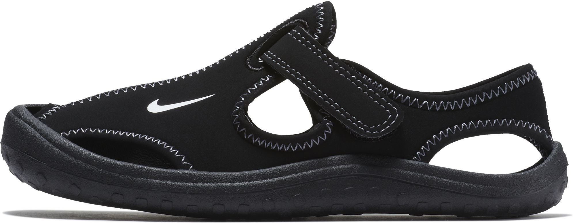 Nike Sunray Protect (PS) Little Kids Shoes Black/White/Dark Grey 903631-001 (3 M US)