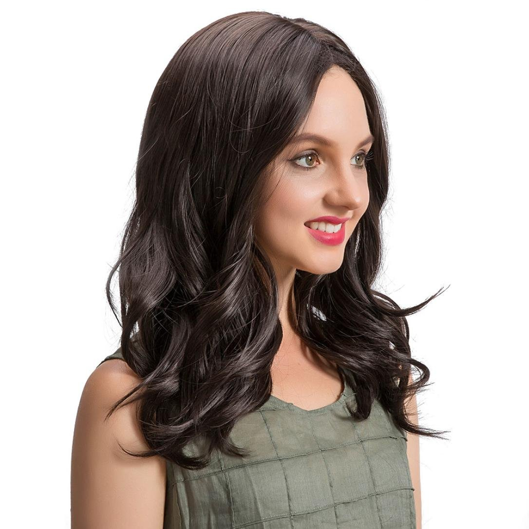 Amazon.com : Huphoon Blonde Wigs Women 55cm Long Natural Looking Tiddy Stright Fiber Full Wig 4 Hairstyle Available : Beauty