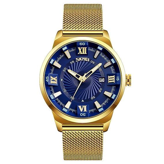 SKMEI 9166 reloj impermeable multifuncional reloj de lujo y moda reloj exquisito reloj de estilo casual