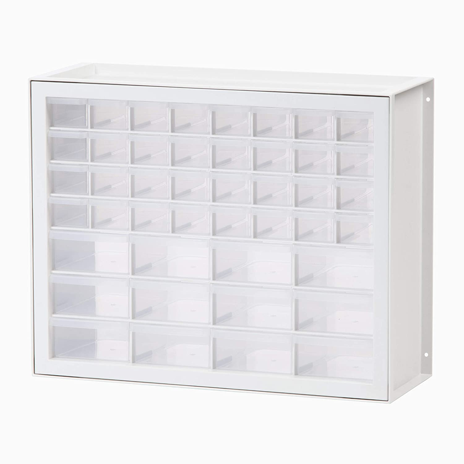 IRIS USA, Inc. DPC-44 44 Drawer Sewing and Craft Parts Cabinet White