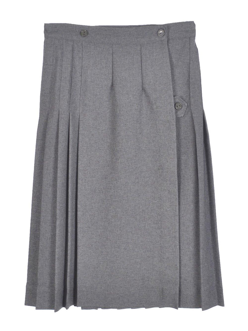 Cookie's Brand Big Girls' Junior''Half Pleat'' Skirt - gray, junior 13